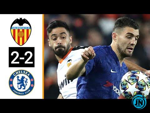 Valencia vs Chelsea 2-2 – All Highlights & Goals